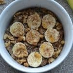 Maple Banana Bread Oatmeal