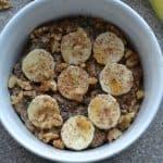 Maple Banana Bread Oatmeal