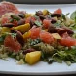 Mango Quinoa Salad with Mint Vinaigrette