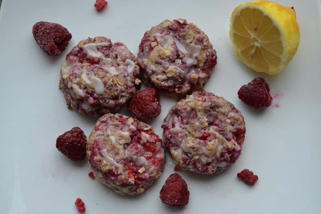 Raspberry Lemon Scones