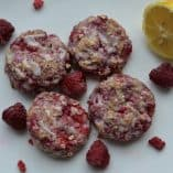 Raspberry Lemon Oat Scones