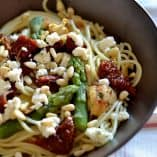 Asparagus and Sundried Tomato Pasta
