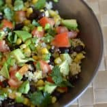 Black Bean and Corn Quinoa Salad