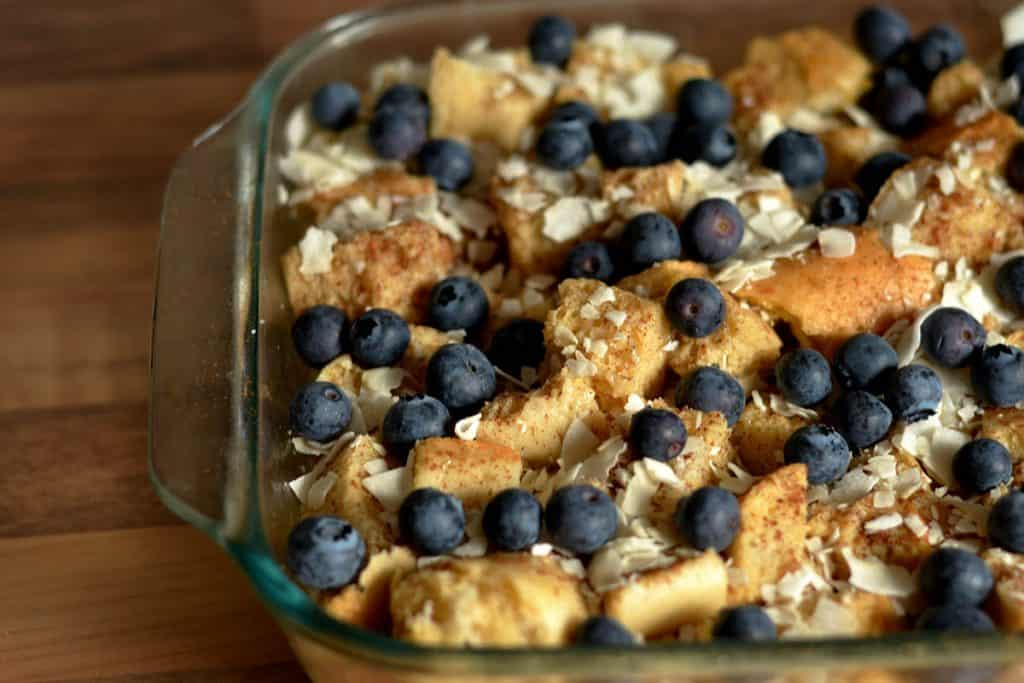 Blueberry Coconut French Toast 3