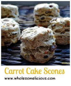 Carrot Cake Scones Pin