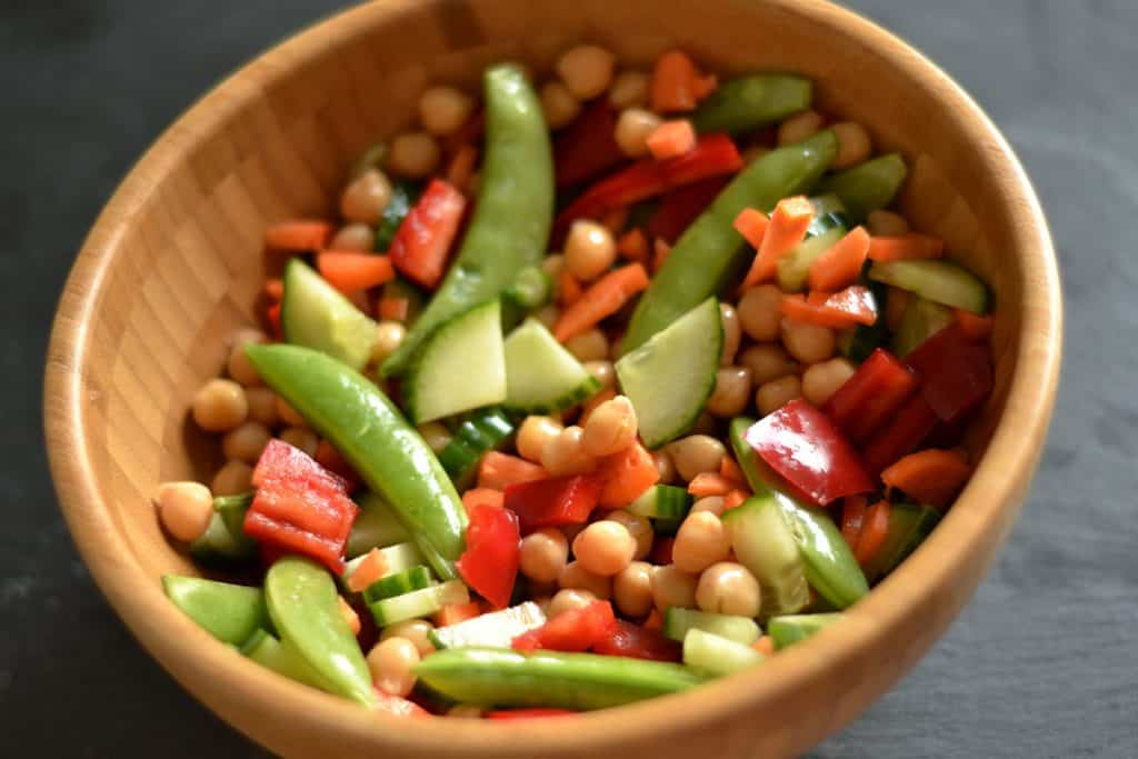 Chickpea Salad with Ginger & Sesame Dressing3