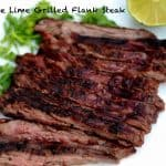 Chipotle Lime Grilled Flank Steak