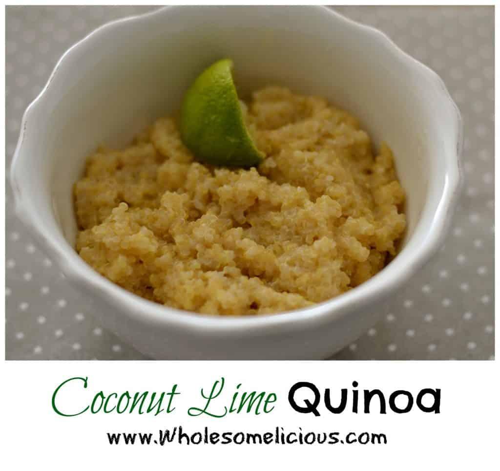 Coconut Lime Quinoa pin