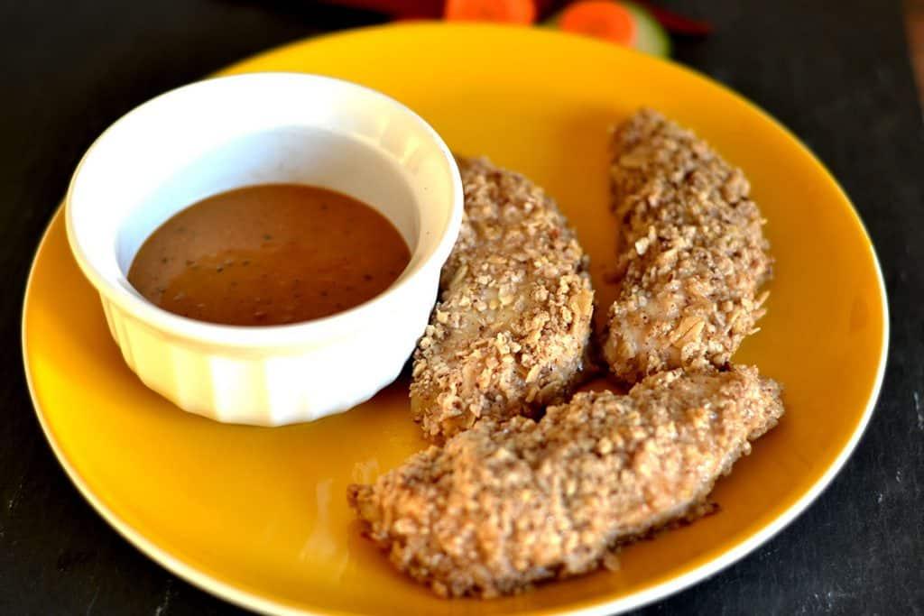 Coconut & Pecan Crusted Chicken Tenders