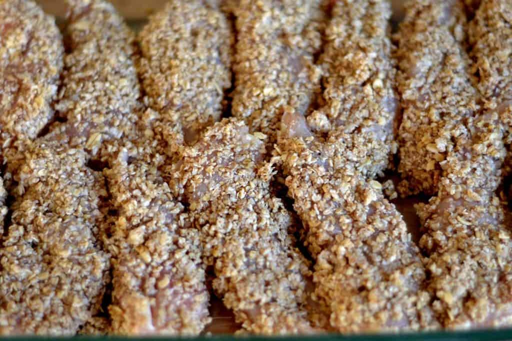 Coconut & Pecan Crusted Chicken Tenders3
