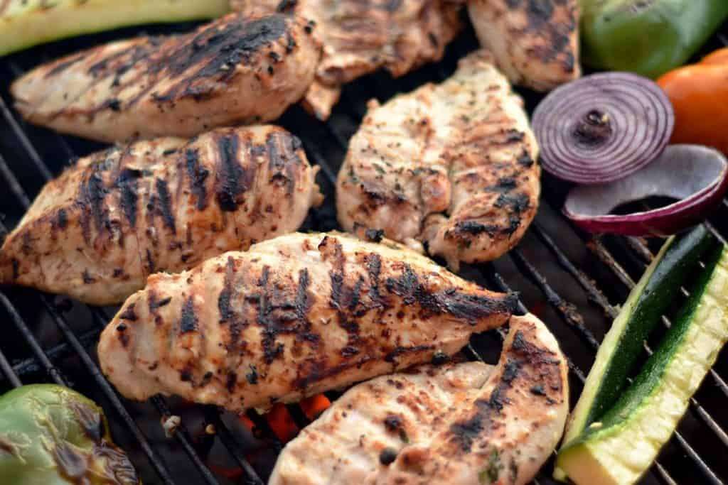 Grilled Citrus & Thyme chicken