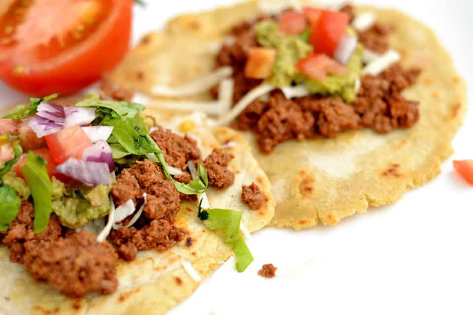 Slow Cooker Ground Beef Tacos