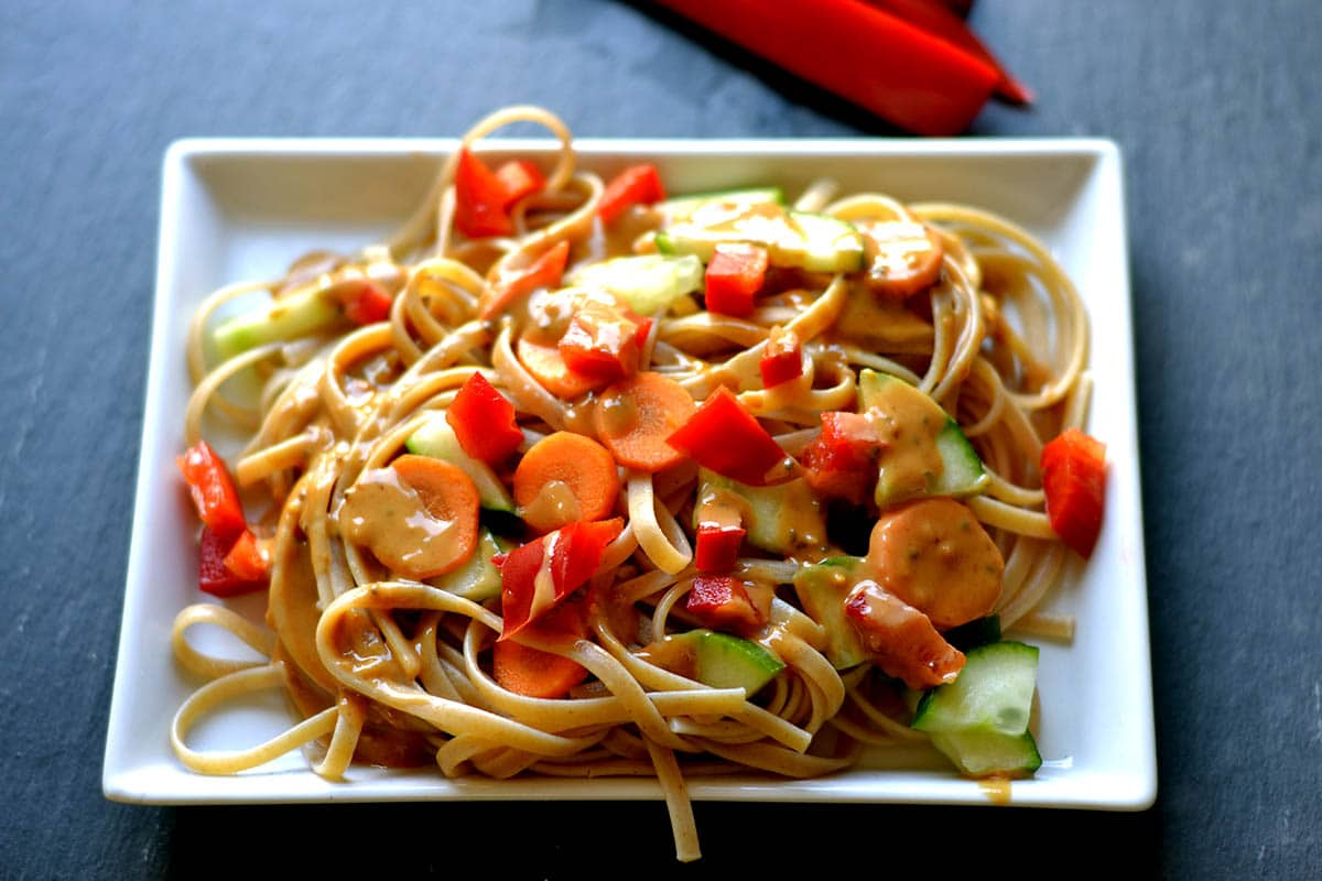 how to make vegetable noodles at home