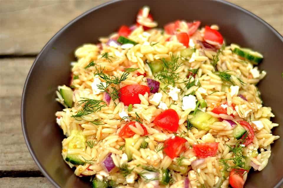 Greek Orzo Salad with Dill2