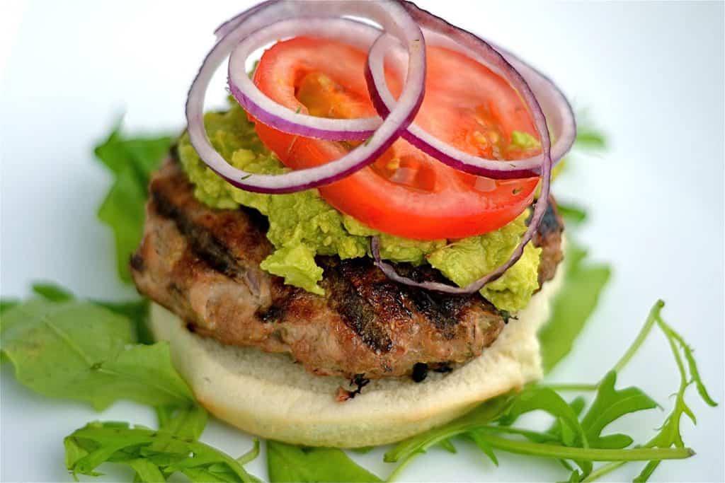 Grilled Turkey & Quinoa Burger