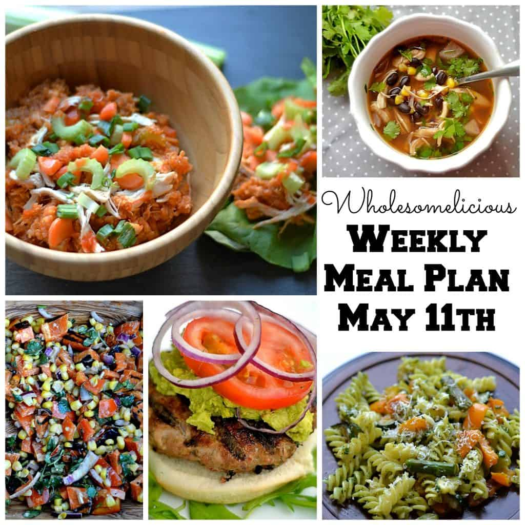 May 11th Meal Plan