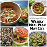 Weekly Meal Plan for May 11th