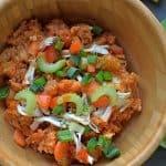 Slow Cooker Buffalo Chicken and Quinoa