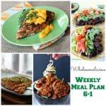 Weekly Meal Plan 6-1