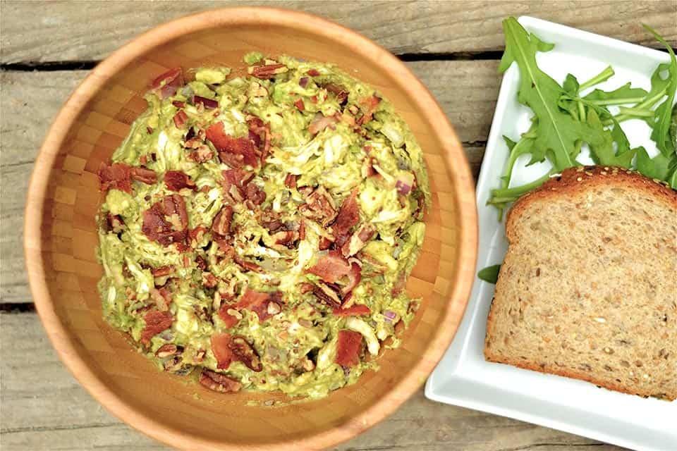 Avocado Chicken Salad with Bacon2