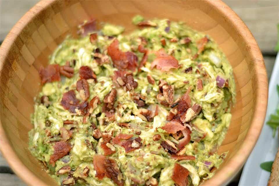 Avocado Chicken Salad with Bacon3