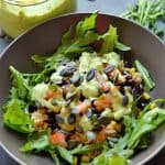 Black Bean and Rice Bowls with Creamy Avocado Sauce