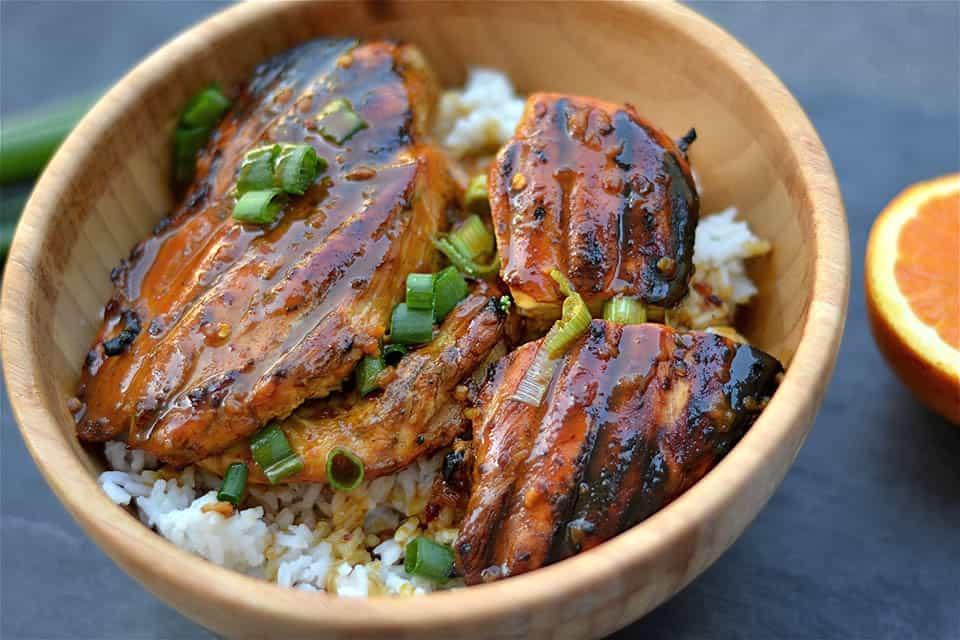 Grilled Orange Asian Chicken1