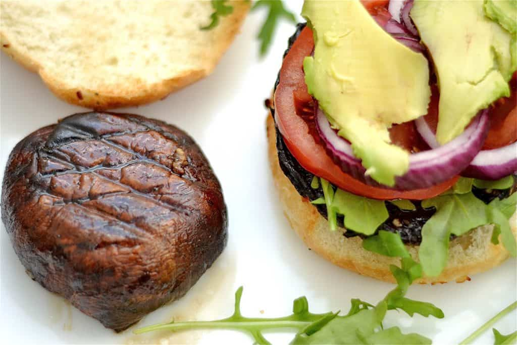 Grilled Portabello Mushroom Burgers
