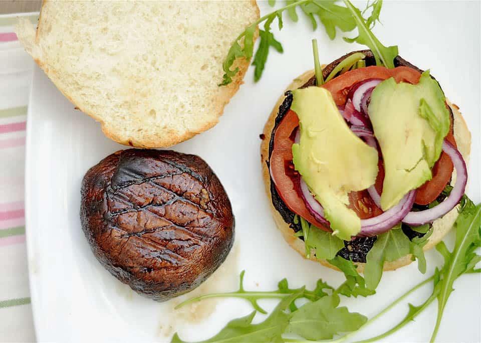 Grilled Portobello Mushroom Burgers3