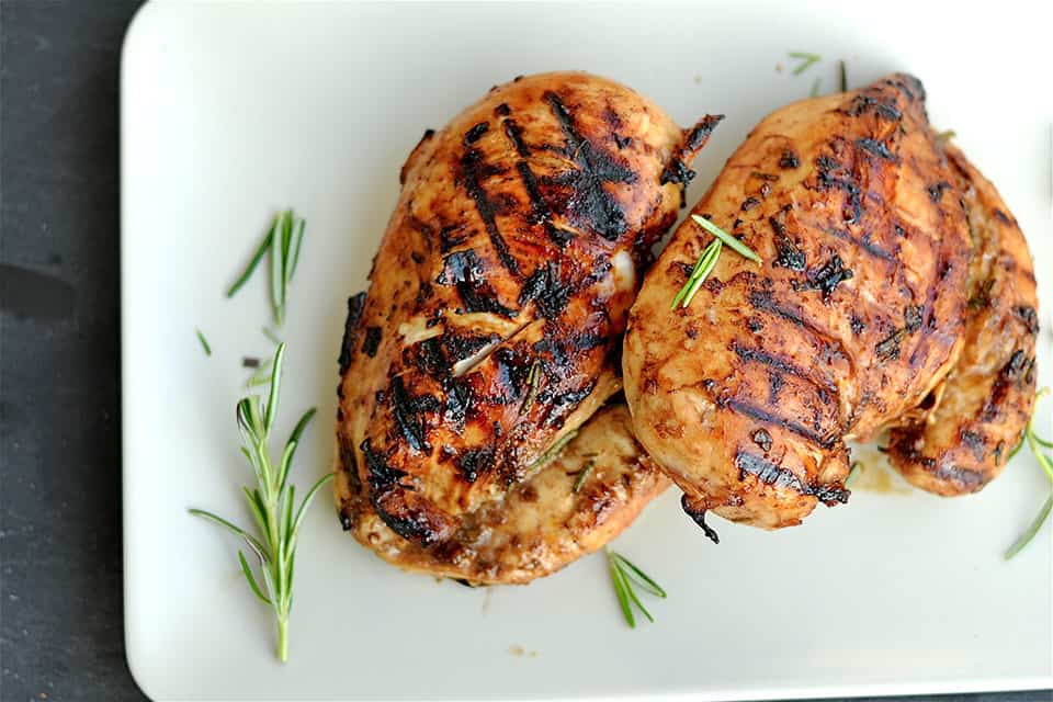 Grilled Rosemary & Balsamic Chicken
