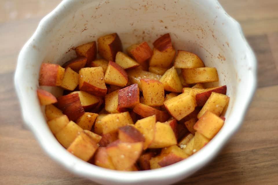 Peach Cobbler Muffins1