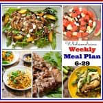 Weekly Meal Plan 6-29