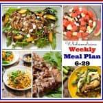 Weekly Meal Plan 6-29