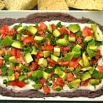 Chipotle Black Bean Hummus Layered Dip