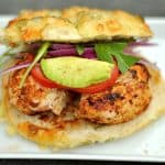 Grilled Cajun Chicken Sandwiches