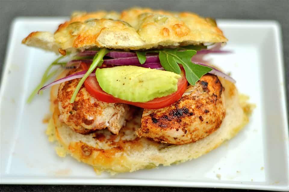 Cajun Chicken Burger