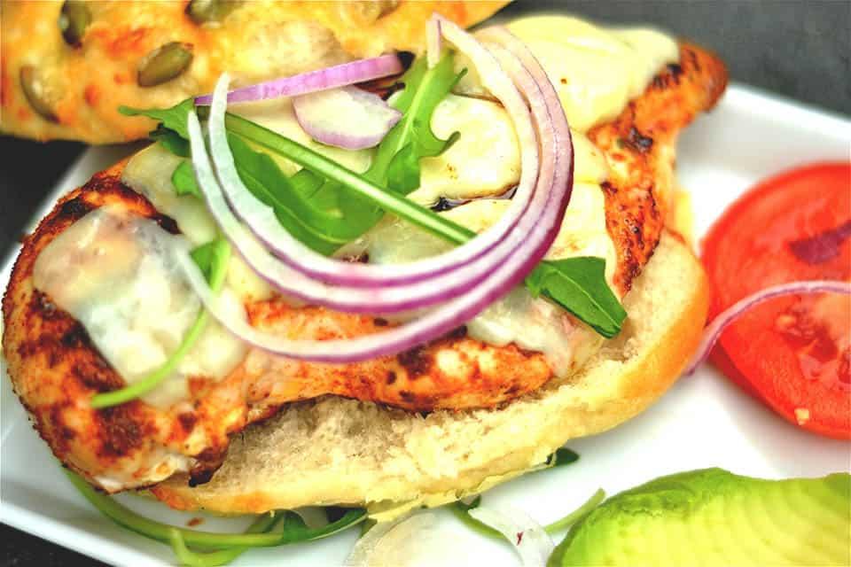 Cajun Chicken Burger1