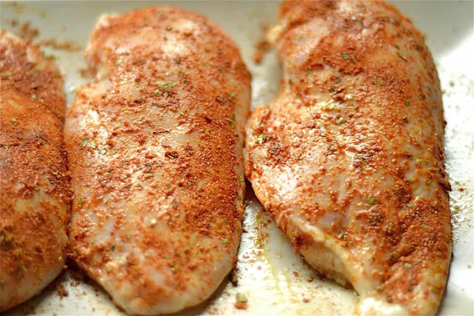 Cajun Chicken Burger2