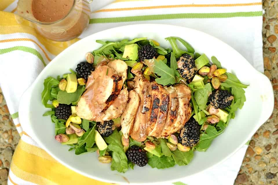 Grilled Chicken and Blackberry Salad2