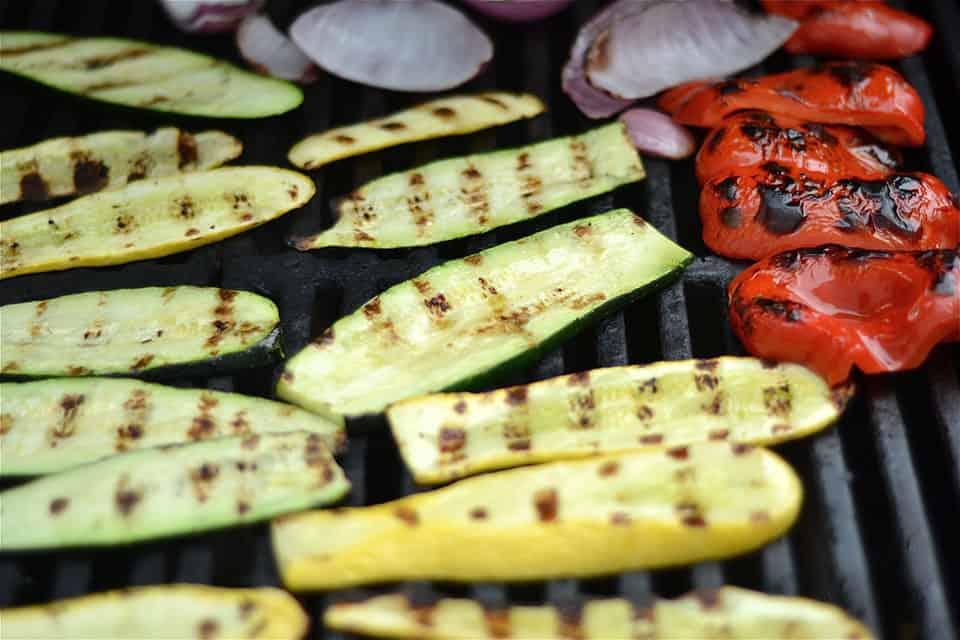 Grilled Veggie and Black Bean Quesadillas 3