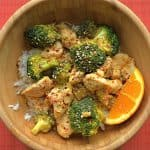 Orange Chicken and Broccoli Stir Fry