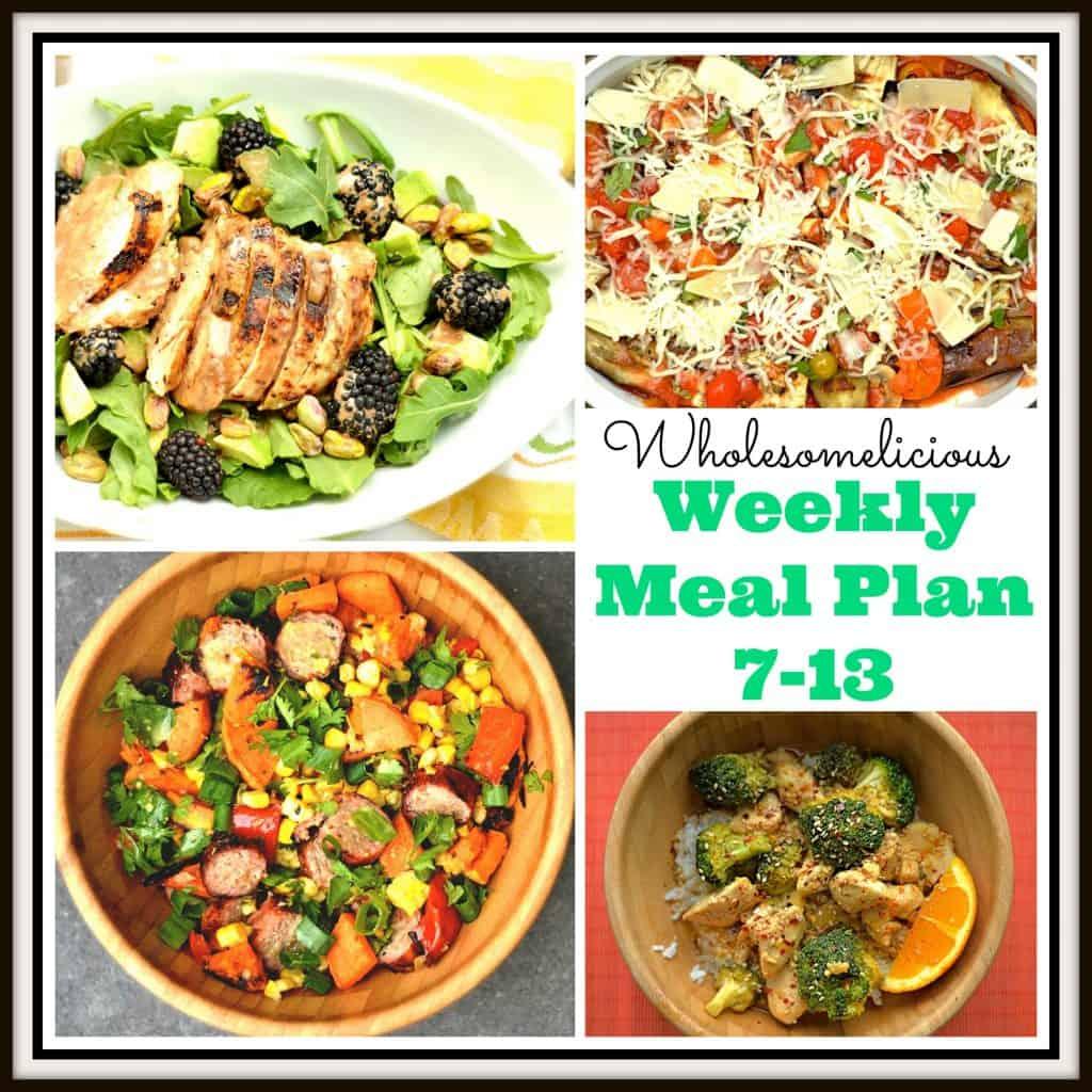Weekly Meal Plan 7-13