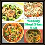 Weekly Meal Plan July 13th