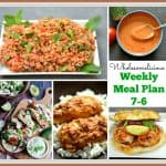 Weekly Meal Plan 7-6