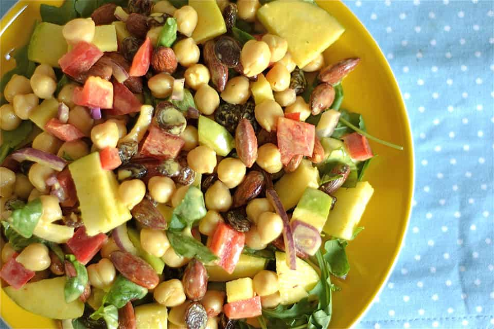 Coconut Curry Chickpea and Apple Salad3