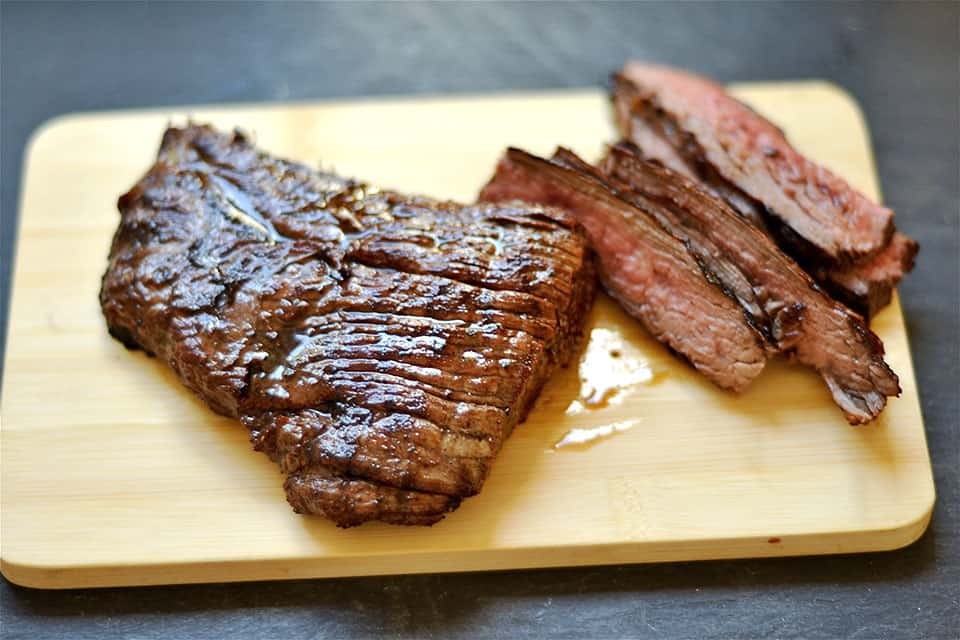Grilled Greek Flank Steak with Tzatziki 2