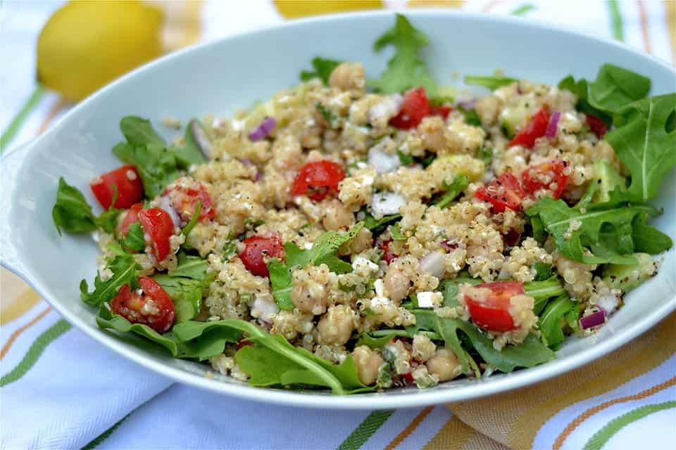 Mediterranean Quinoa Salad 2