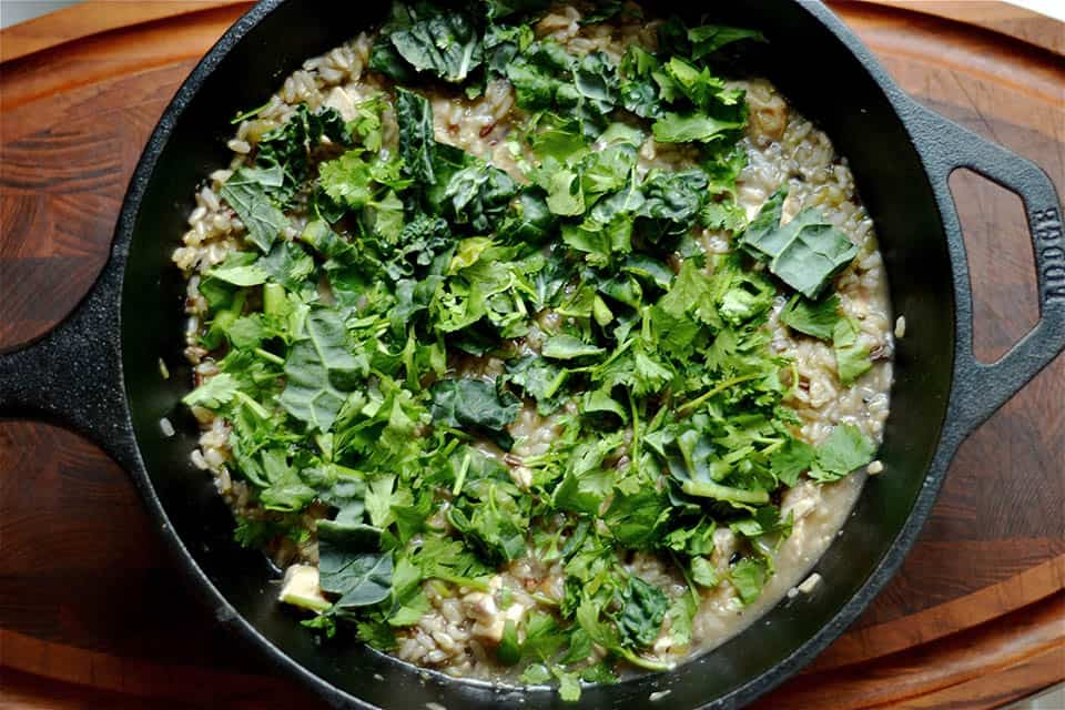 Salsa Verde Chicken and Wild Rice Skillet2