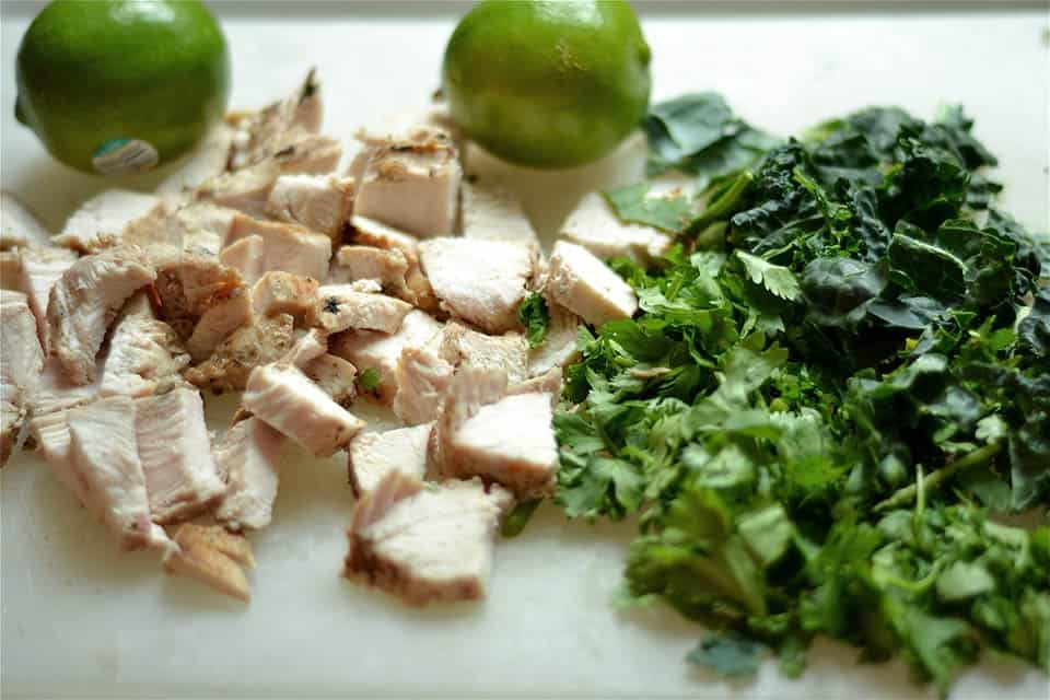 Salsa Verde Chicken and Wild Rice Skillet3