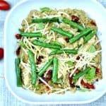 Slow Cooker Pesto Chicken Quinoa with Sun Dried Tomatoes